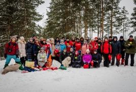 Чемпионат и Первенство челябинской области по спортивному туризму на лыжной дистанции