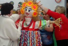 Областной конкурс на лучшую ростовую куклу