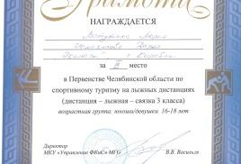 В Миассе завершилось Первенство Челябинской области.
